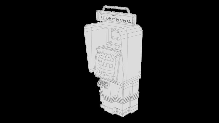 Telefone royalty-free 3d model - Preview no. 29