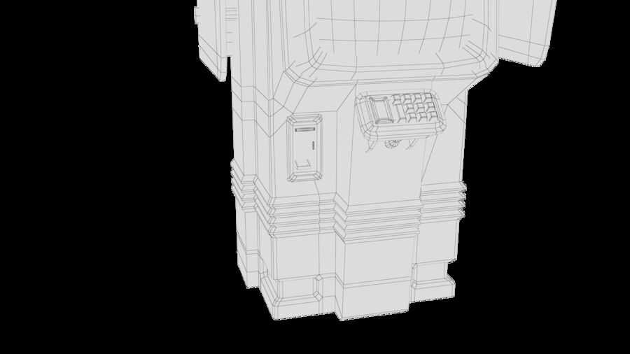 Telefone royalty-free 3d model - Preview no. 24