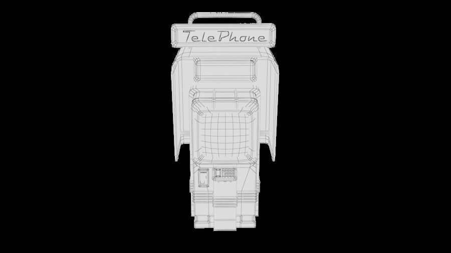 Telefone royalty-free 3d model - Preview no. 30