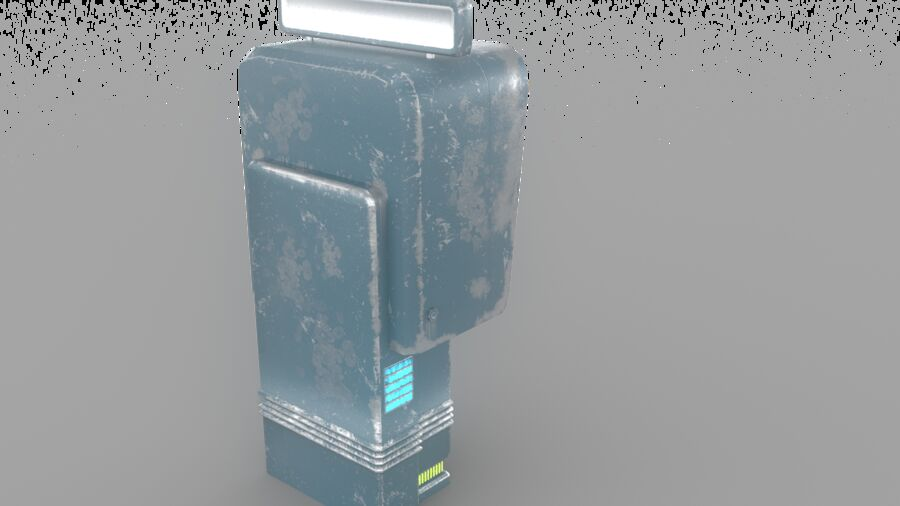Telefone royalty-free 3d model - Preview no. 10