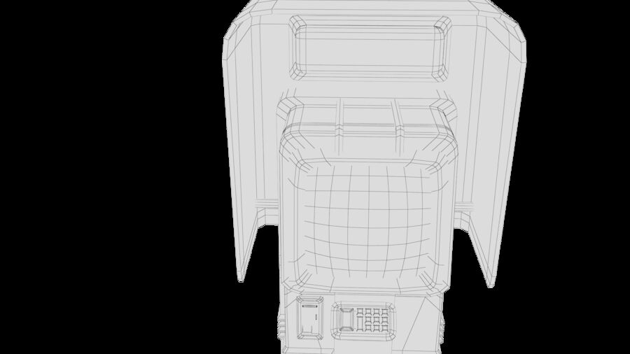 Telefone royalty-free 3d model - Preview no. 22