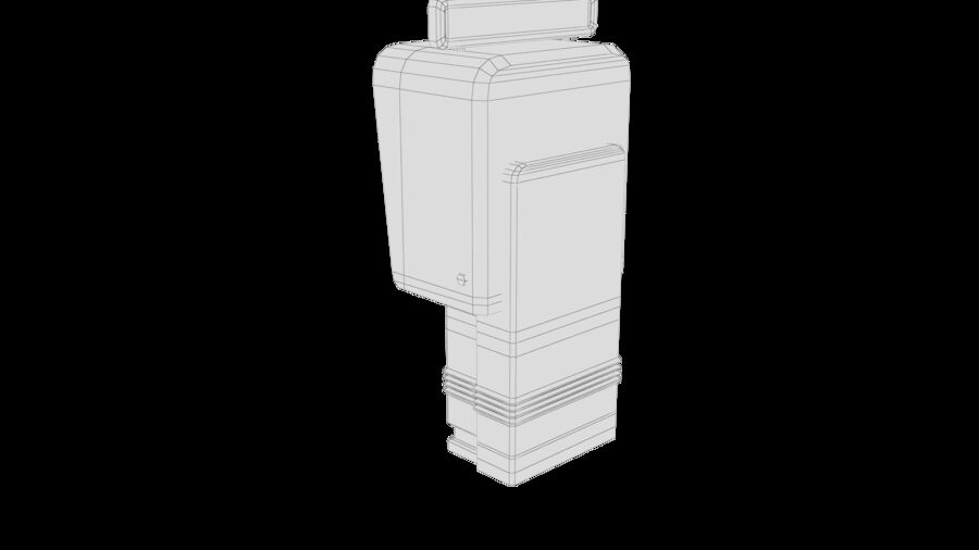 Telefone royalty-free 3d model - Preview no. 34
