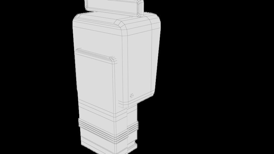 Telefone royalty-free 3d model - Preview no. 27