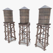 Vattentorn 3d model