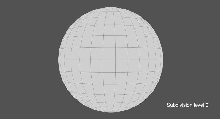 Terre (pas de nuages) royalty-free 3d model - Preview no. 19