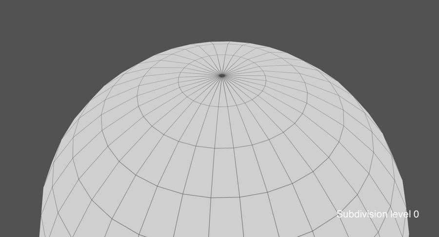 Terre (pas de nuages) royalty-free 3d model - Preview no. 23