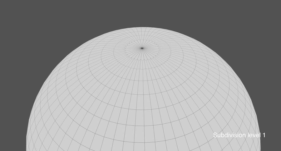 Terre (pas de nuages) royalty-free 3d model - Preview no. 25