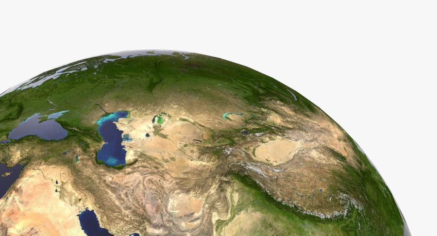 Terre (pas de nuages) royalty-free 3d model - Preview no. 15