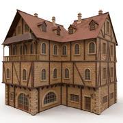 Medieval Block C 3d model