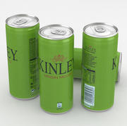 Beverage Can Kinley Virgin Mojito 330ml Tall 3d model