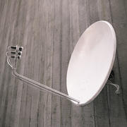 ROOF SATELLITE DISH A01 3d model