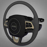 Jeep Renegade steering wheel L067 3d model