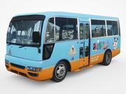 2002日产平民巴士 3d model