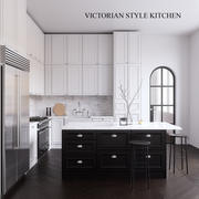 Victorian Style kitchen 3d model