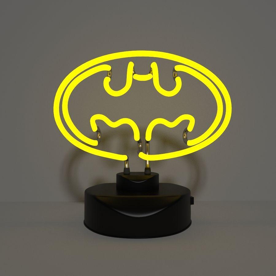 Fledermaus Lampe royalty-free 3d model - Preview no. 10