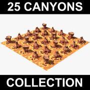 Colección 25 Canyon modelo 3d