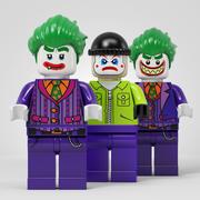 Coleção da equipe Lego Joker 3d model