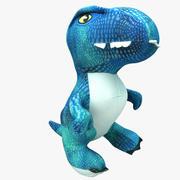 Pluszowy dinozaur 02 3d model