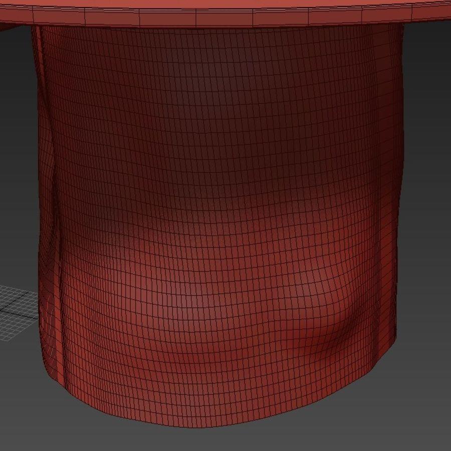 Glazen tafels van stronken royalty-free 3d model - Preview no. 21