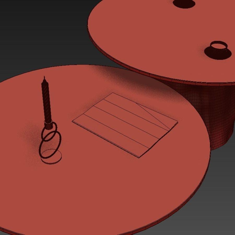 Glazen tafels van stronken royalty-free 3d model - Preview no. 25