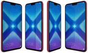 Honor 8X Red 3d model