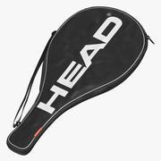 网球拍单袋 3d model