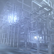 Pipe Structure Environment 3d model