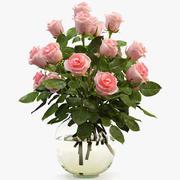 Rose Bouquet 3d model