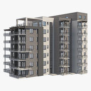 Wohnhaus 25 3d model