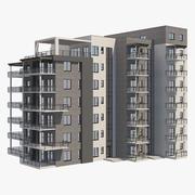 아파트 25 3d model