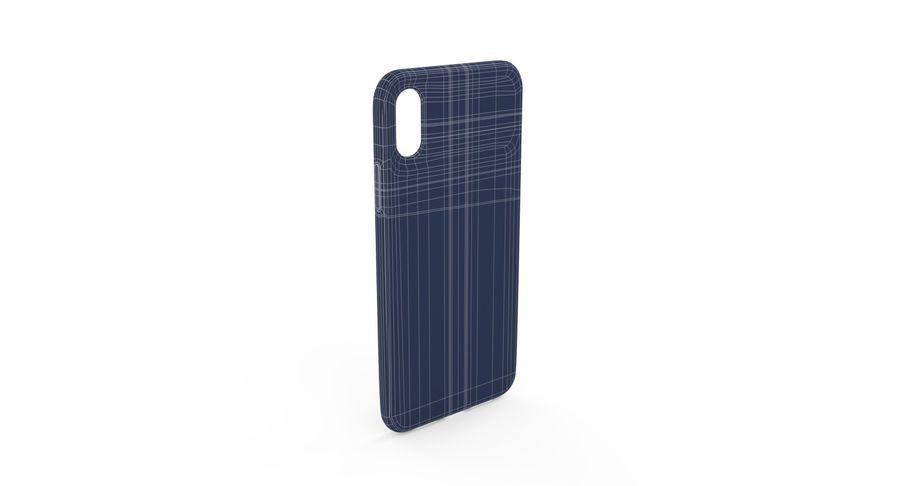 iPhone XS Kılıfı royalty-free 3d model - Preview no. 10