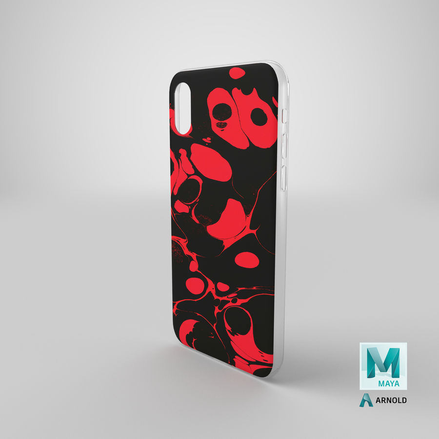 Custodia per iPhone XR royalty-free 3d model - Preview no. 20