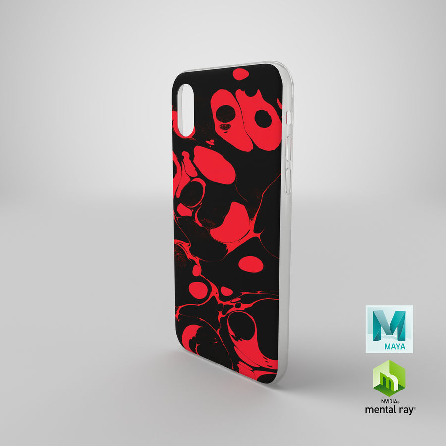 Custodia per iPhone XR royalty-free 3d model - Preview no. 21