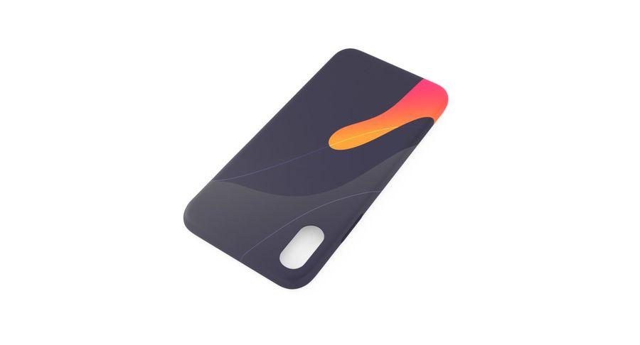 iPhone XS Kılıfı royalty-free 3d model - Preview no. 5