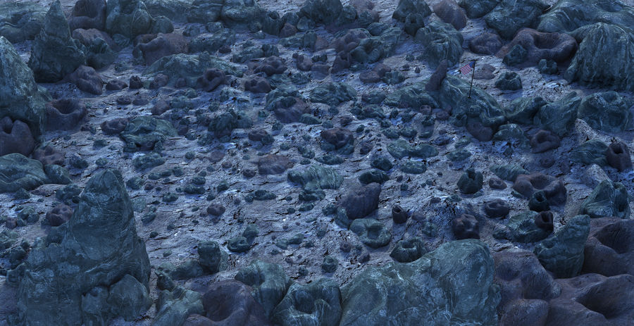 Moon Environment royalty-free 3d model - Preview no. 1
