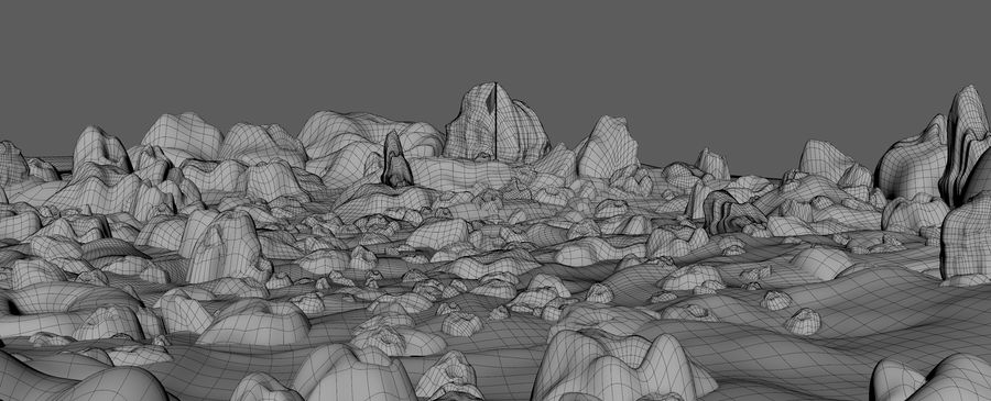 Moon Environment royalty-free 3d model - Preview no. 16