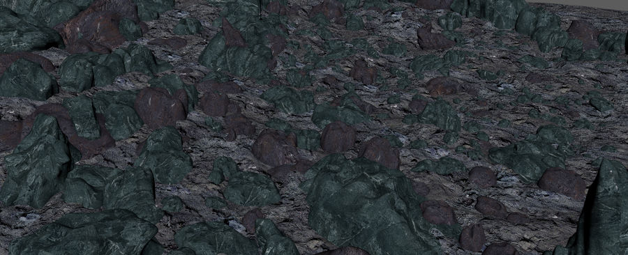 Moon Environment royalty-free 3d model - Preview no. 19