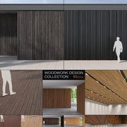 Coleção Woodwork 3d model