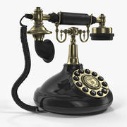 Vintage Antique Telephone 3d model