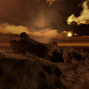 Ambiente di Rock Island 3d model