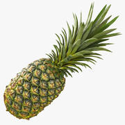 Realistic Whole Pineapple 3d model
