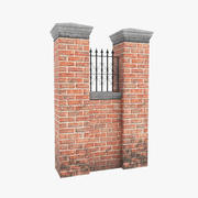 Garden Wall V1 modelo 3d