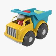 Caminhão de brinquedo 3d model