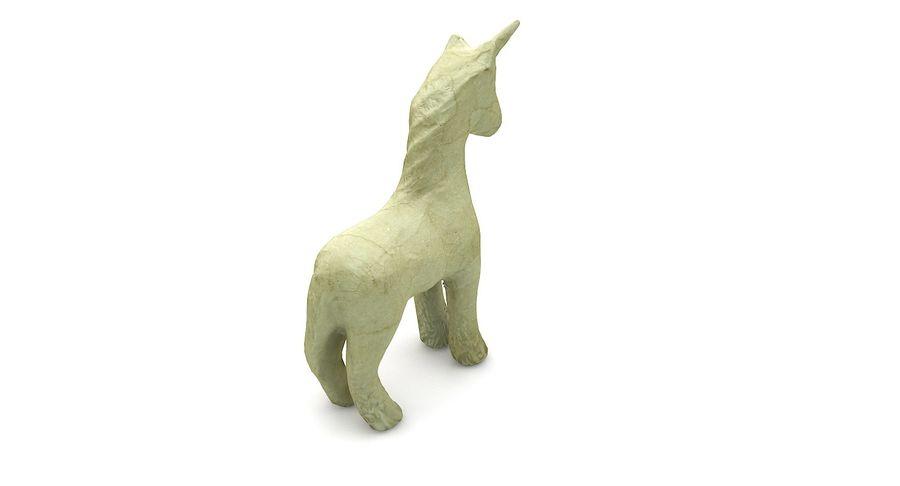 Figurine Horse Carton royalty-free 3d model - Preview no. 6
