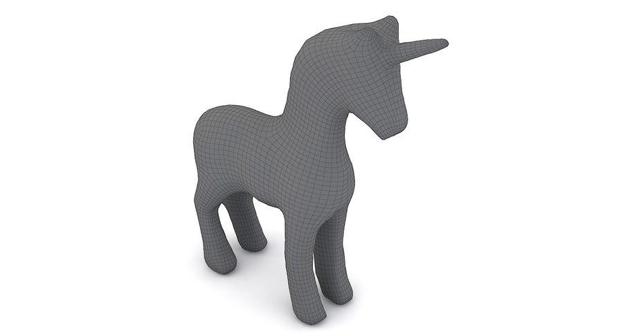 Figurine Horse Carton royalty-free 3d model - Preview no. 3