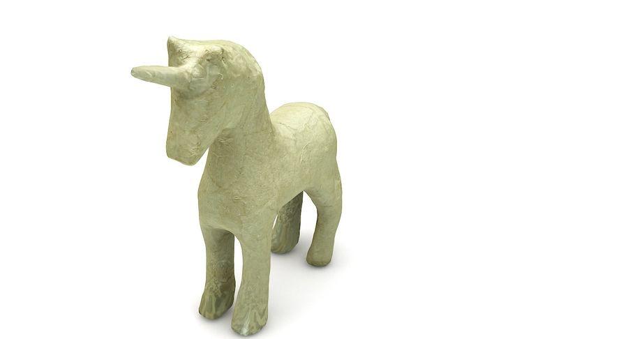 Figurine Horse Carton royalty-free 3d model - Preview no. 11