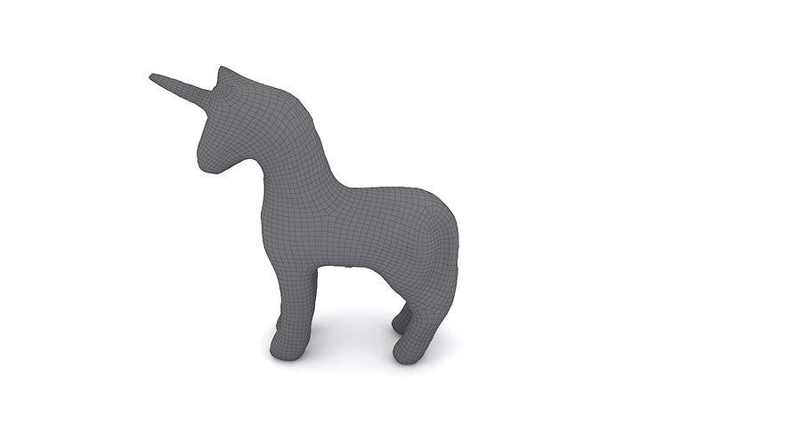 Figurine Horse Carton royalty-free 3d model - Preview no. 10