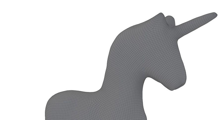 Figurine Horse Carton royalty-free 3d model - Preview no. 13