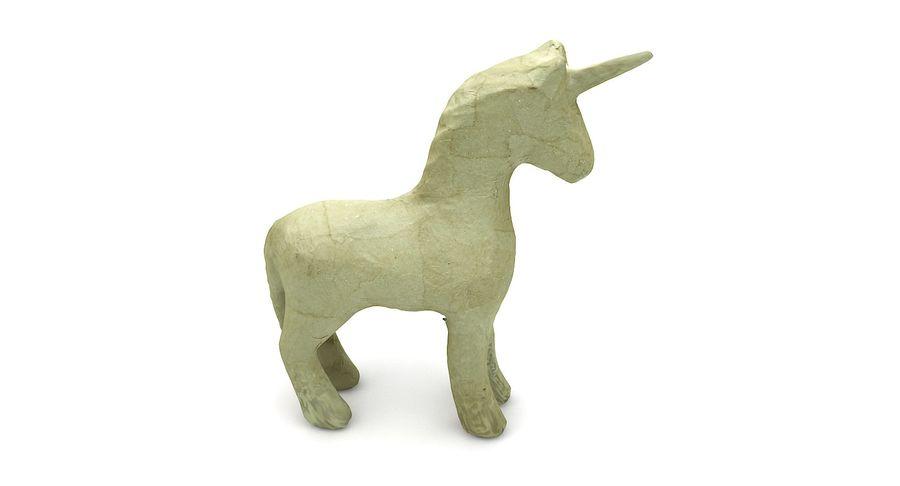 Figurine Horse Carton royalty-free 3d model - Preview no. 5