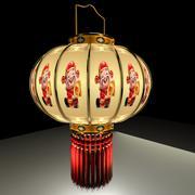 Chińska latarnia 3d model